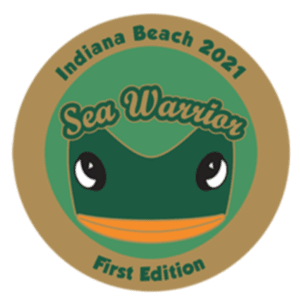 2021 SEA WARRIOR FIRST EDITION PIN – Limited Time Only